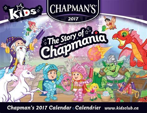 Calendrier Coupon Rabais Obtenez Un Calendrier 2017 Chapman S Gratuit