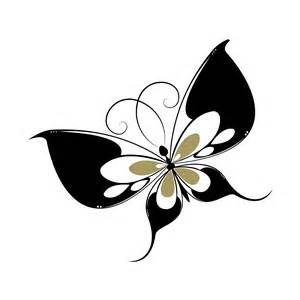 wall decals butterfly sticker decal black and gold inicio extra bles reciclaje calcoman etiqueta pared del