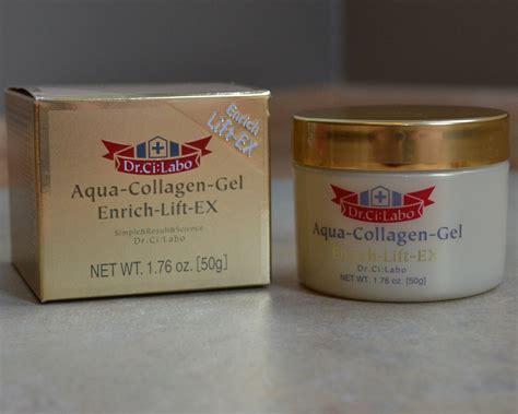 Aqua Collagen dr ci labo aqua collagen gel enrich lift ex review