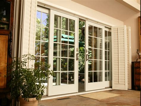 Adorable House With Sliding French Doors Camer Design Dual Sliding Patio Doors