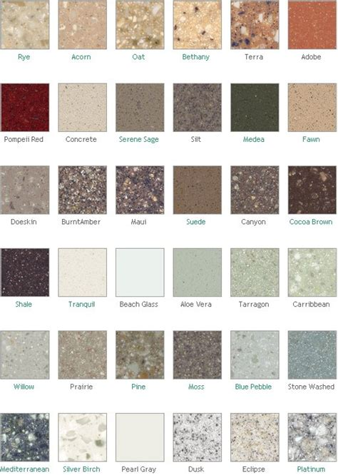 corian countertop colors dupont corian countertop colors