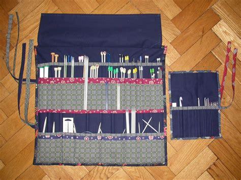knitting needle roll tutorial alexandra s knits tutorial alexandra s needle