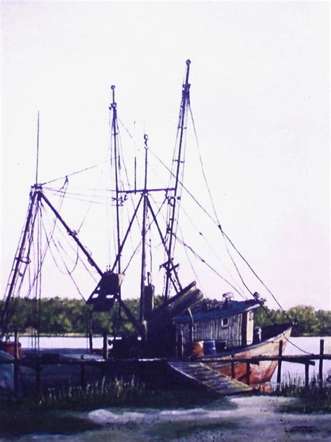 the shrimp boat history of a painting the shrimp boat