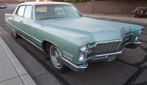 1968 cadillac fleetwood brougham for sale brougham barn find 1968 cadillac fleetwood