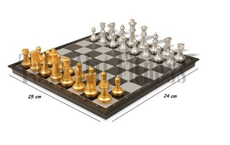 Chess Folding Magnetic Board Papan Catur Magnet chess folding magnetic board 25cm toko alat fitness