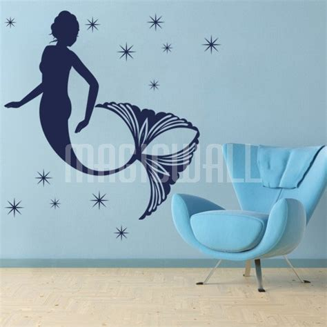 mermaid wall sticker mermaid wall decals winda 7 furniture