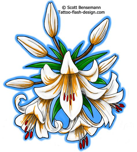 tattoo flash flowers twin flower tattoo design real photo pictures images