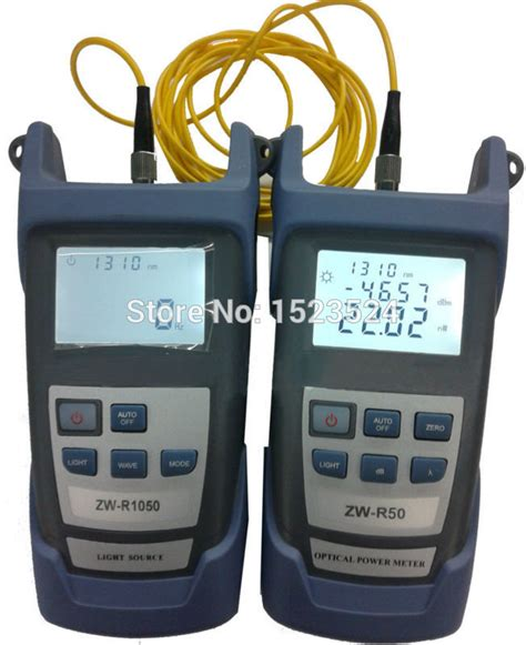 power meter light source test aliexpress com buy fiber optical multimeter 50 26dbm