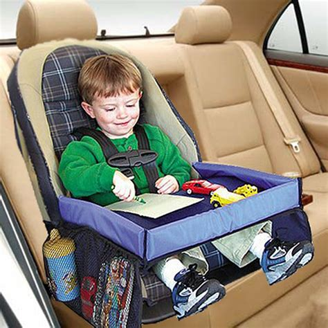 Children Storage Seat 1 waterproof table car seat tray storage toys infant