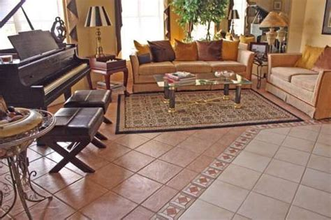 Tiled Living Room Floor Ideas Living Room Decorating Design Living Room Flooring Ideas And Plans