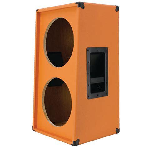 2x12 guitar cabinet empty 2x12 vertical guitar speaker empty cabinet orange tolex