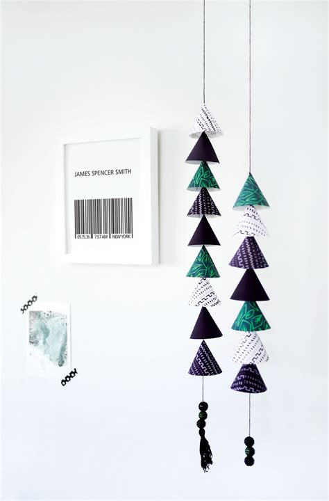 Paper Mobiles To Make - how to make your own modern paper mobile with our free