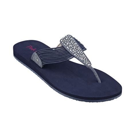pink and blue sandals lyst pink and pepper mauie sandals in blue