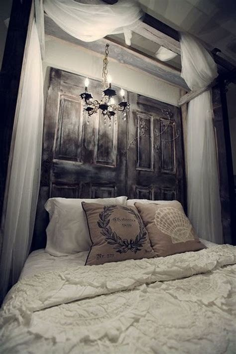 make headboard from door finish your bedroom with a diy headboard