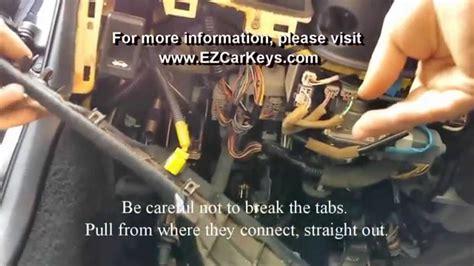 acura honda immobilizer removal ezcarkeyscom youtube
