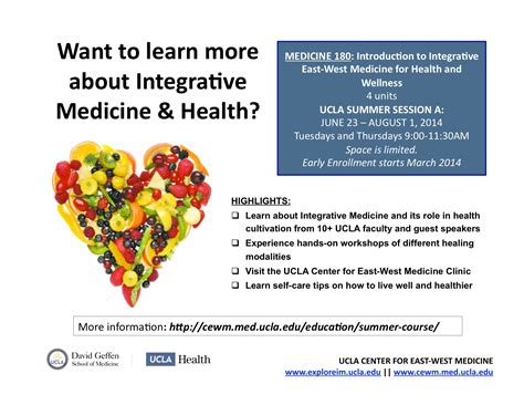 clinical applications integrated traditional medicine tcm and western medicine books events 171 ucla center for east west medicine