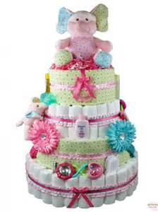 give the new parents a gift they will never forget rattlecake s blooming elephant diaper cake