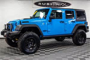 Blue Jeep Jk 2017 Jeep Wrangler Rubicon Unlimited Chief Blue