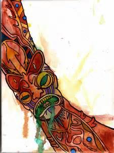 Tiki mask by gloenn on deviantart
