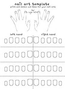 Nail Templates by Free Printable Nail Template The Nail And