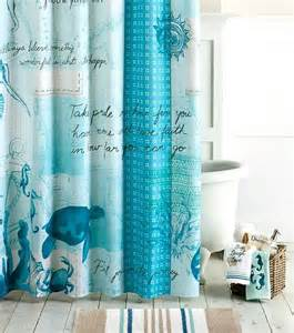 decor shower curtains to create an instant spa feeling