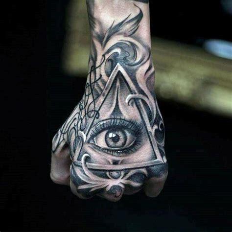 eyeball tattoo satanic 100 illuminati tattoos for men enlightened design ideas