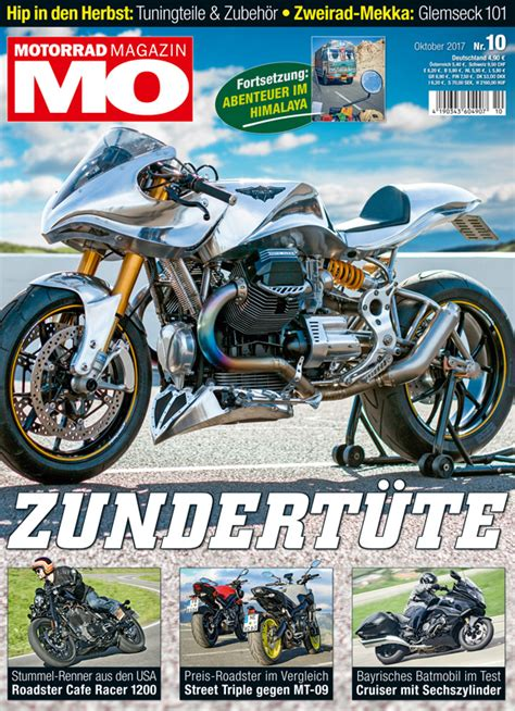 Mo Motorrad Magazin De by Motorrad Magazin Mo 10 2017 Motorrad Magazin Mo