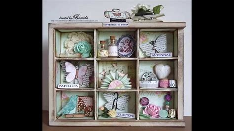 easy diy shabby chic style crafts youtube