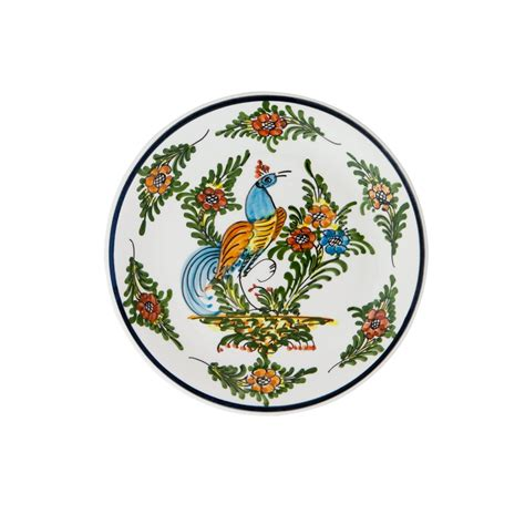 Decorative Plates by Decorative Plates For Display Peacock I