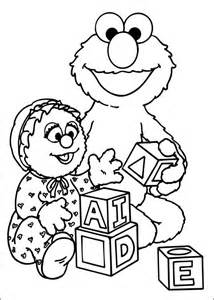 sesame coloring pages free printable sesame coloring pages for