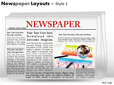 Editable Newspaper Clipart 30 Powerpoint Newspaper
