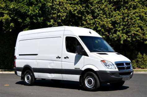 dodge sprinter cargo for sale find used 2008 dodge sprinter 144wb cargo with high roof