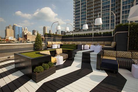 kensington roof top bar the kensington roof garden lounge bars in river north chicago