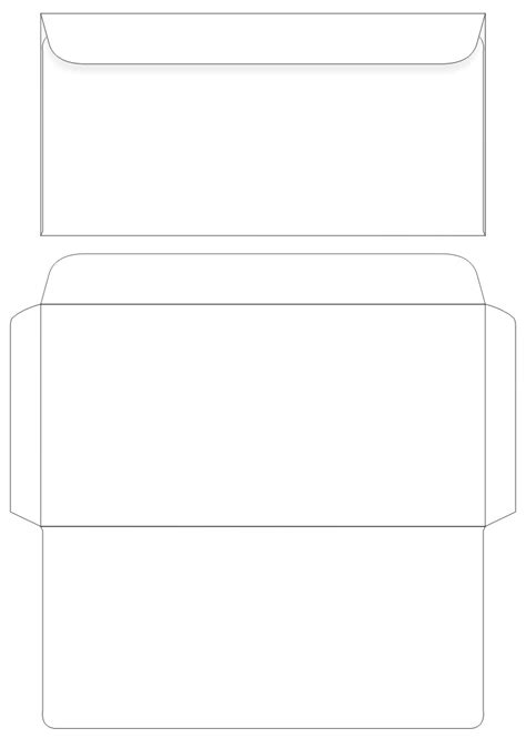 printable envelope template pdf search results for free santa envelope template dl