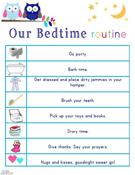 3 year old won t stay in bed best 25 bedtime routine chart ideas on pinterest