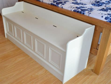 painted monks bench deanery low bed end monks bench with hand painted finish
