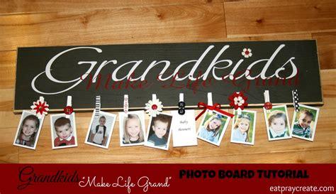 Grandkids Make Life Grand Picture Board Tutorial Eat