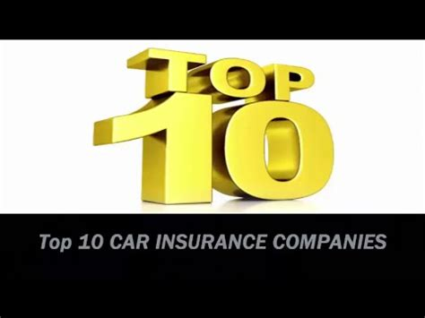 Top Car Insurance Companies by Which Is This Best Car Insurance Company For You Top 10