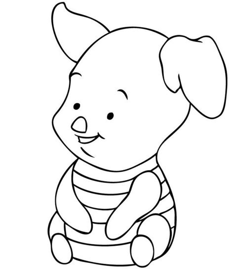 coloring pages winnie the pooh baby free disney coloring pages pin baby pooh coloring pages