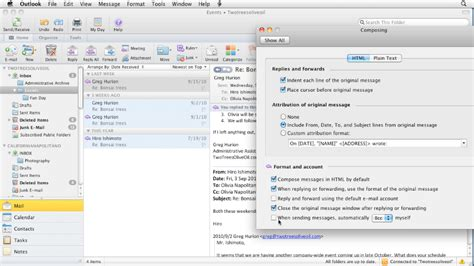 optimizing and troubleshooting outlook for mac os x intermedias outlook for mac 2011 essential training