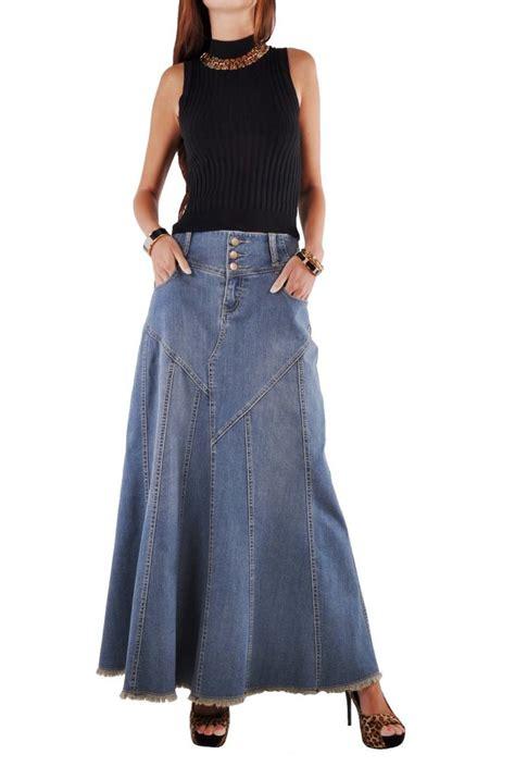 fantastic flared jean skirt re 0543 style j