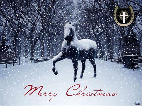 christmas wallpaper with horses christmas horses wallpaper for computer wallpapersafari
