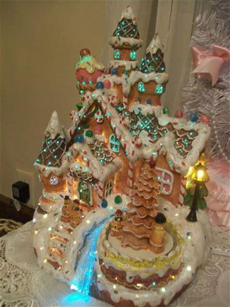 cracker barrel fiber optic lighted gingerbread christmas
