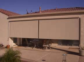 Roll Up Shades For Patio by The Sunscreen Factory Exterior Solar Shades