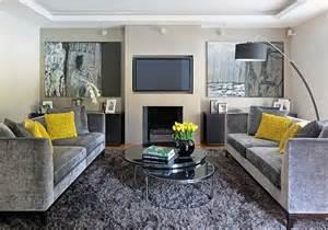 Grey And Yellow Chair Design Ideas 15 Decora 231 245 Es De Sala Sof 225 Cinza Imperd 237 Vel Apartamento Decorado Pequeno