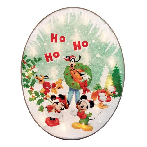 disney mickey mouse lighted window decoration christmas