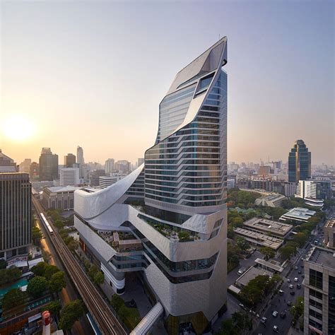 home architect top companies list in thailand al a clads sinuous central embassy tower in bangkok with