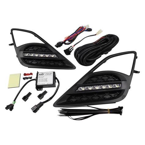 automotive led light kits auer automotive 174 sfr 713 led daytime running light kit