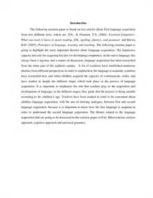 How To Write A Good Reaction Paper How Exactly Should I Write A Reaction Paper