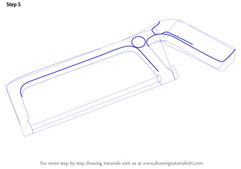 how to draw tools learn how to draw a hacksaw tools step by step drawing
